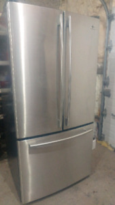Stainless Steel LG Fridge