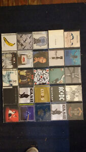 25 CD's Rock - 75$ for all or best offer