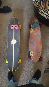 Longboards for sale!! Only used handful of times