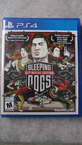 Sleeping Dogs Definitive Edition PS4 excellente condition