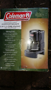 New, never used Coleman Camp Drip Coffee Maker