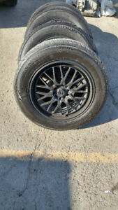 SUV RIMS AND TIRES FOR SALE - ***NEGOTIABLE***