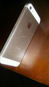 iPhone 5s 16gb white gold