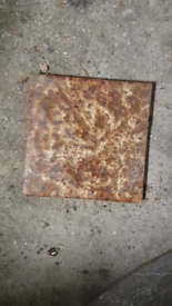 Tiles from hearth