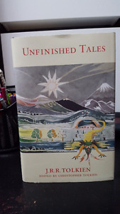 Tolkien: Lord of the Rings - New Book - Unfinished Tales - RARE!