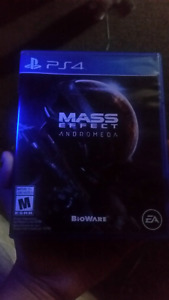 MASS EFFECT PS4 FOR SALE.