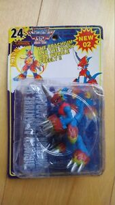 DIGIMON Adventure 02 Flamedramon & Lightdramon Figures [RARE]