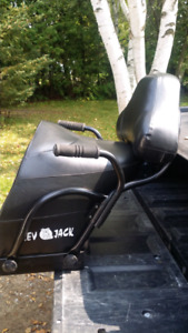 Snowmobile two up seat