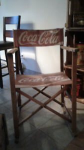 chaise décorative Antique Coke