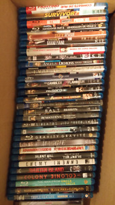 REDUCED Blu-Rays (DVDs in other ad)