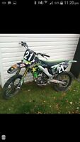 2007 kx250f with extras and ownership