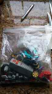 Bag of Lego Technic parts
