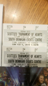 2 Tickets for Scotties Tournament of Hearts (All events)