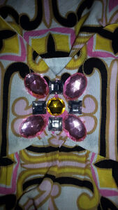 NEW - Pink Gemstone Retro Babydoll Top Gatineau Ottawa / Gatineau Area image 4