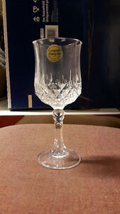 ***** great price NEW CRYSTAL GOBLETS -- reduced  ********