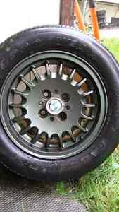 BMW 60R14 rims and tires