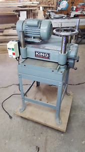 "15"" King Industrial Thickness Planer"