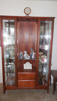 Curio/China Cabinet For Sale