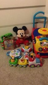 Bundle of Mickey Mouse toys. Excellent condition.