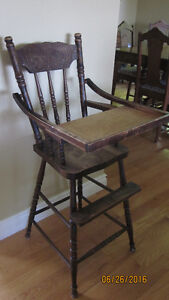 FOR SALE: ANTIQUE HIGHCHAIR