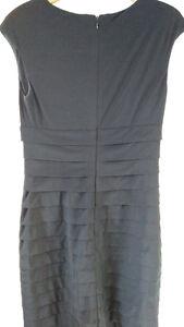 Petite little black tiered dress- size 6 Windsor Region Ontario image 2