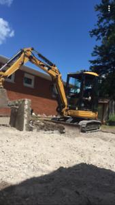 303cr mini excavator