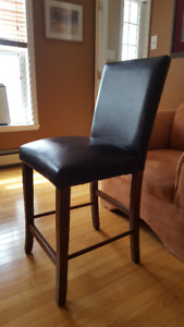 Leather Chairs - Pub Height $60/pr