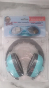 cb5cd91415 Baby banz ear protection and sunglasses