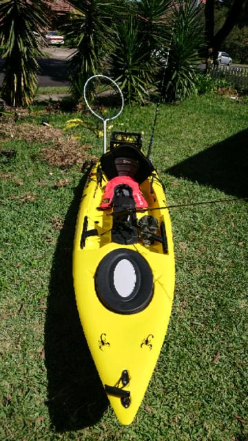 Fishing kayak   Kayaks & Paddle   Gumtree Australia Ryde