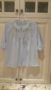 Back to Elegance - Soft blue Bed Jacket