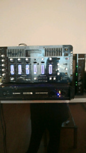 Amp n equalizer and tower