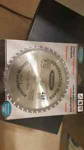 "Tungsten saw blade 7 1/4""  NEW"