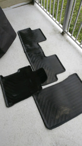 Honda civic Oem rubber floor mats