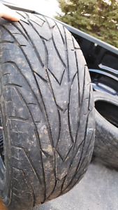 2 x 205/65R16 atlas Greyhawk tires
