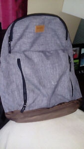 Tracker backpack with laptop space
