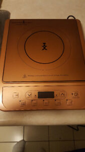 Copper Chef Induction Cooktop With 10 Inch Non Stick Skillet