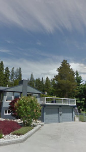 Half a house for rent in Salmon Arm