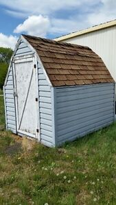 Garden shed - barn style
