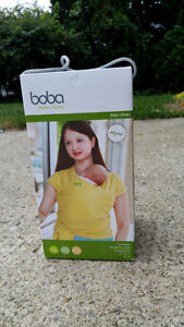 Organic Boba Wrap Baby Carrier (yellow)