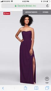 Brand new, never worn bridesmaid dress