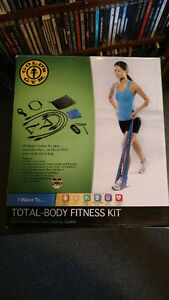 Gold's Gym - Total Body Fitness Kit
