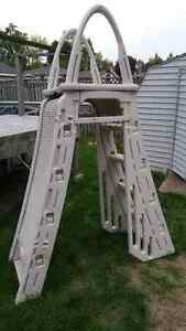 Plastic Pool Ladder A-Frame (Model #7200)