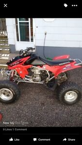 2005 Trx 450r trade for rocket
