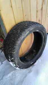 Like New Studded Winter Tires (225 45R17, 205 50R17)