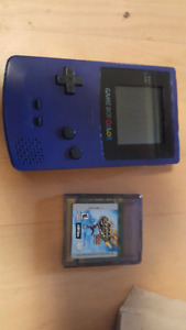 Gameboy color good condition with game