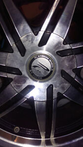 Custom tires and rims for Chrysler 200