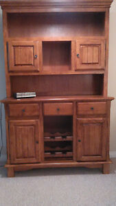 BUFFET HUTCH FOR SALE-REDUCED - $250