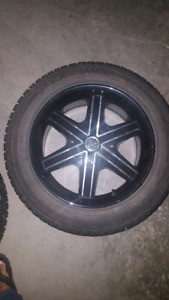 Dodge Journey Winter Tires on Rims