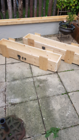 Planter crate, vegetable plot bed