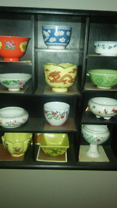 Miniature bowl collection